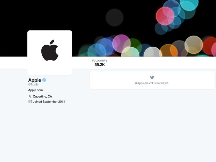 Apple might live-tweet the iPhone 7 launch from its @apple account | TechCrunch