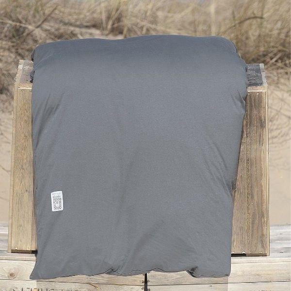 Påslakan Smoke, rökgrå, bäddtextiler sängkläder från Beach House Company