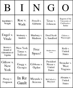 Printables Landmark Supreme Court Cases Worksheet 1000 ideas about supreme court cases on pinterest landmark bingo card
