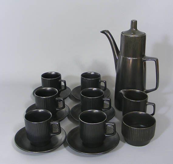 Coffee Set, Vintage Retro, British Anchor, Impact Design, Coffee Set, Mid Century, 1960's