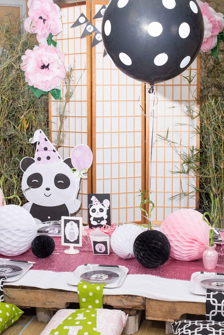Panda Party by Tali of A Party Studio in the latest Twinkle Twinkle Little Party Magazine. Table settings featured Create UR Plate personalized dinnerware