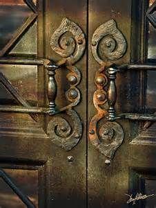 ... amazing door handles… a little creepy but enchanting just the same