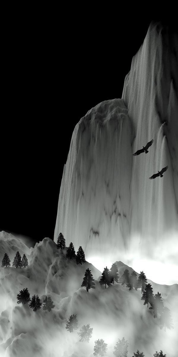 'A Winter's night flight'