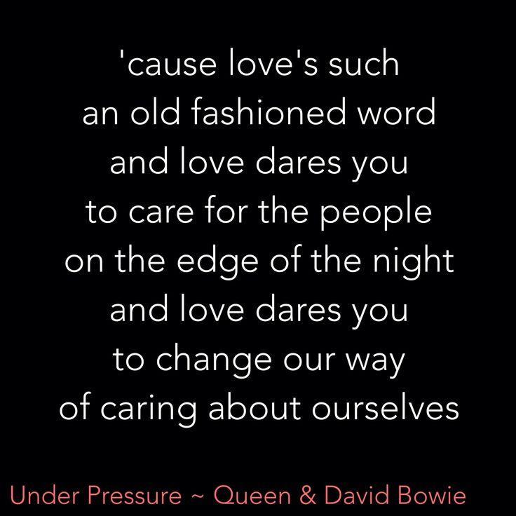 Under Pressure ~ Queen & David Bowie