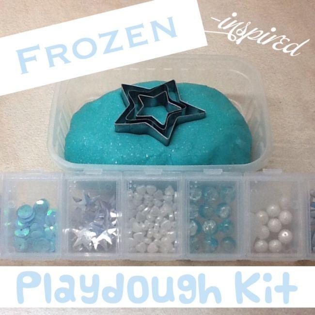 Frozen Inspired Play Dough Set