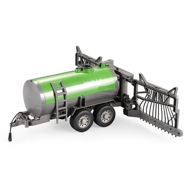 RC Truck 1:16 Farm Tractor 2.4G Remote Control Trailer Dump////Water Truck Toys