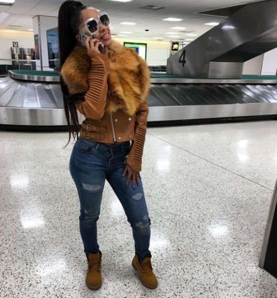 http://www.vivala.com/fashion-trends/cardi-b-fashion/6762/Cardi B knows that no outfit is too fancy for a Bronx girl staple — a pair of Timberland boots./8