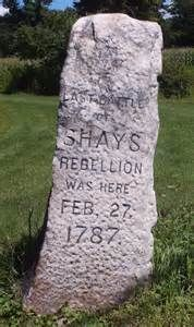 best shays rebellion ideas history articles  shays rebellion