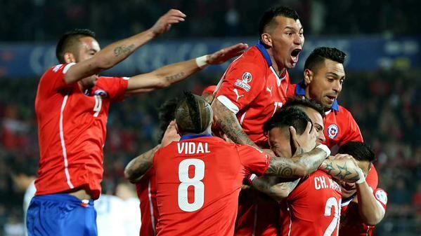VIDEO FOTO Cile-Bolivia 5-0 Coppa America 2015