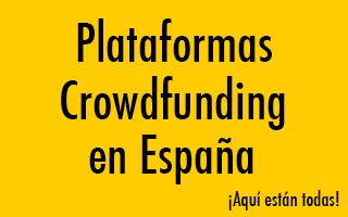 Plataformas Crowdfunding de España