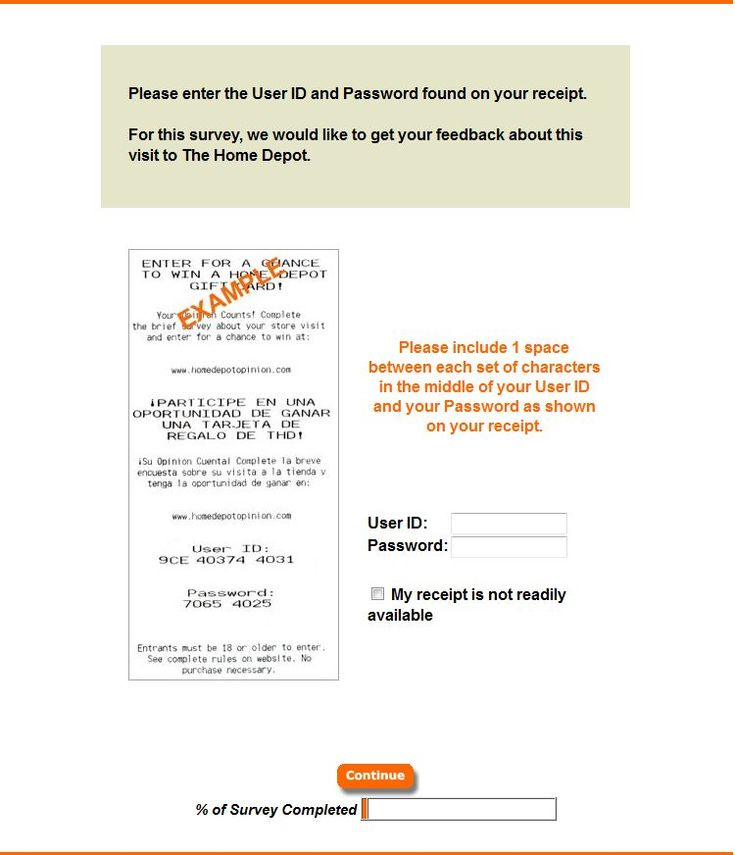 opinion The Home Depot Survey $5 000 Gift Card