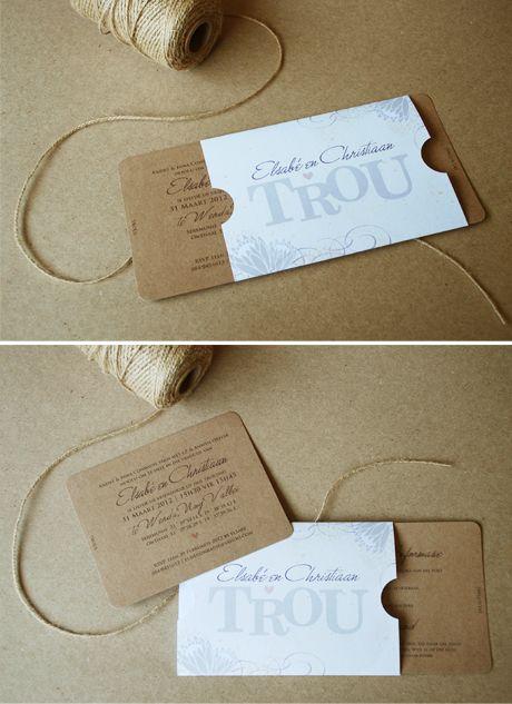 Elsabe & Christiaan's vintage wedding - Blog - Seven Swans Wedding Stationery