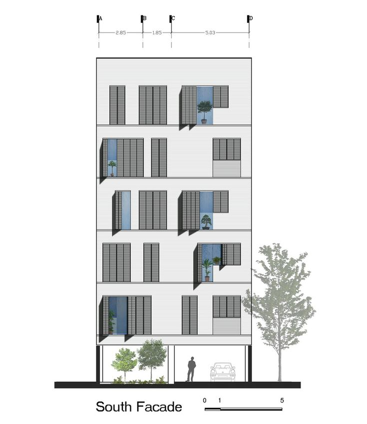 Architectural Residential Elevation : Best images about facciata on pinterest