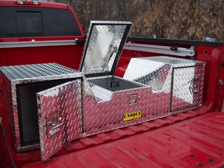 Fifth Wheel Truck Tool Boxes, 5th Wheel V Toolboxes, RV Tool Boxes