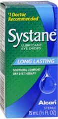 #wow #Systane Long Lasting Lubricant Eye Drops, 15ml, .5 oz - Dry Eye Therapy