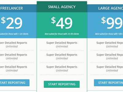 Flat3 Pricing table, Ui design and Website designs - product pricing calculator