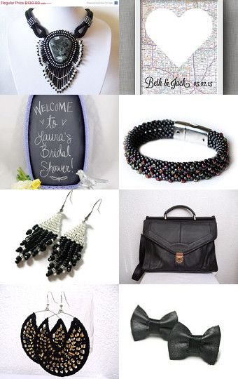 Simply Black by Tronell on Etsy--Pinned with TreasuryPin.com