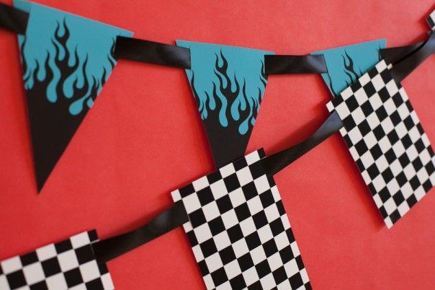 Motorcycle Birthday Party – A Boy's Birthday Biker Rally!