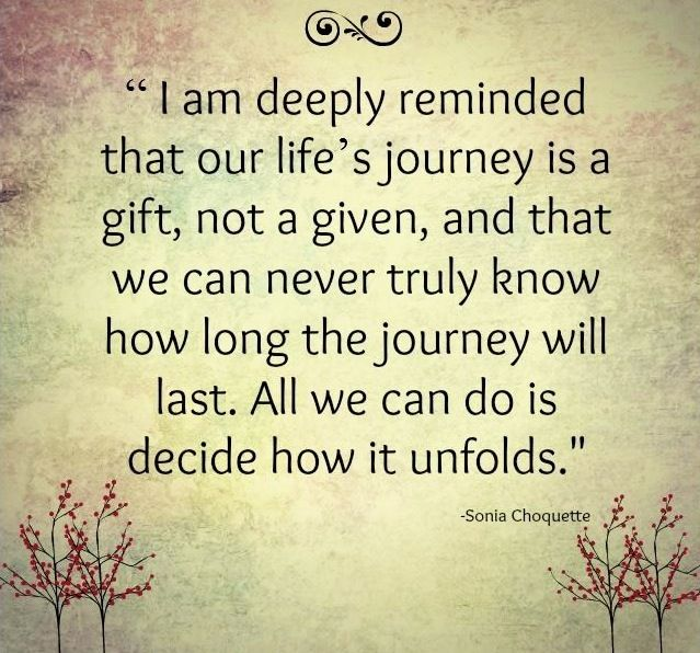 Quotes About Life Journey: Life's Journey Quote
