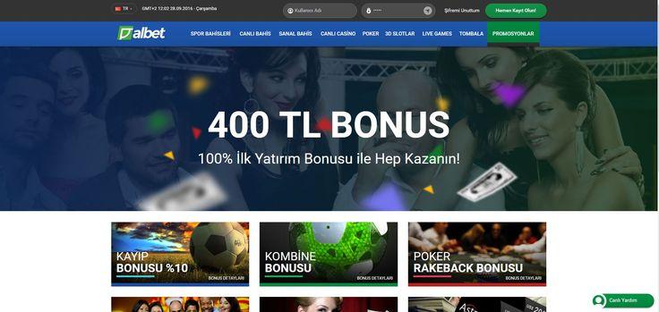 Albet Hoş geldin Bonusu - http://www.albetsitesi.com/albet-hos-geldin-bonusu/