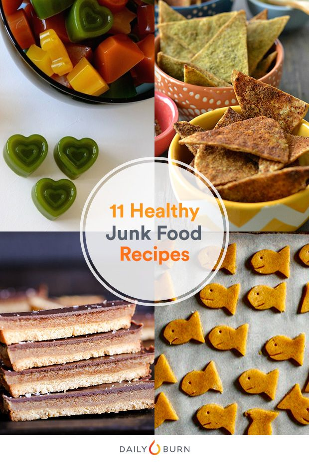 Easy healthy junk food recipes