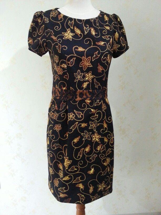 Batik Batari dress by Dongengan (Facebook: Kreasi Dongengan)