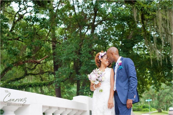 The day this fun couple 'eloped' was a happy one and we had a great time playing through Dickson Azalea Park and Stardust Coffee in Winter Park.  See more here: https://www.thecanovasphotography.com/winter-park-wedding-photographers-kareema-and-nahshon-elope/