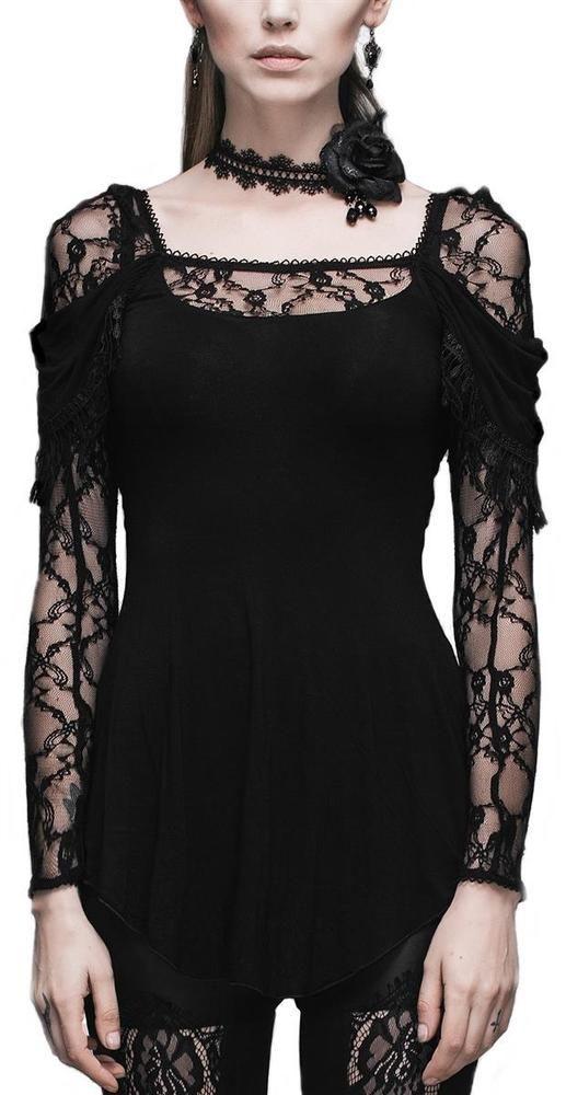 Devil Fashion Tunika festliche Bluse T-Shirt Visual Kei Gothic Punk Romantic Lol