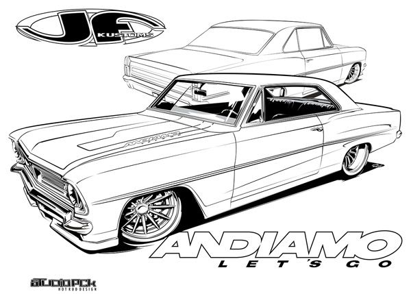 1000  images about hot rod coloring pages on pinterest