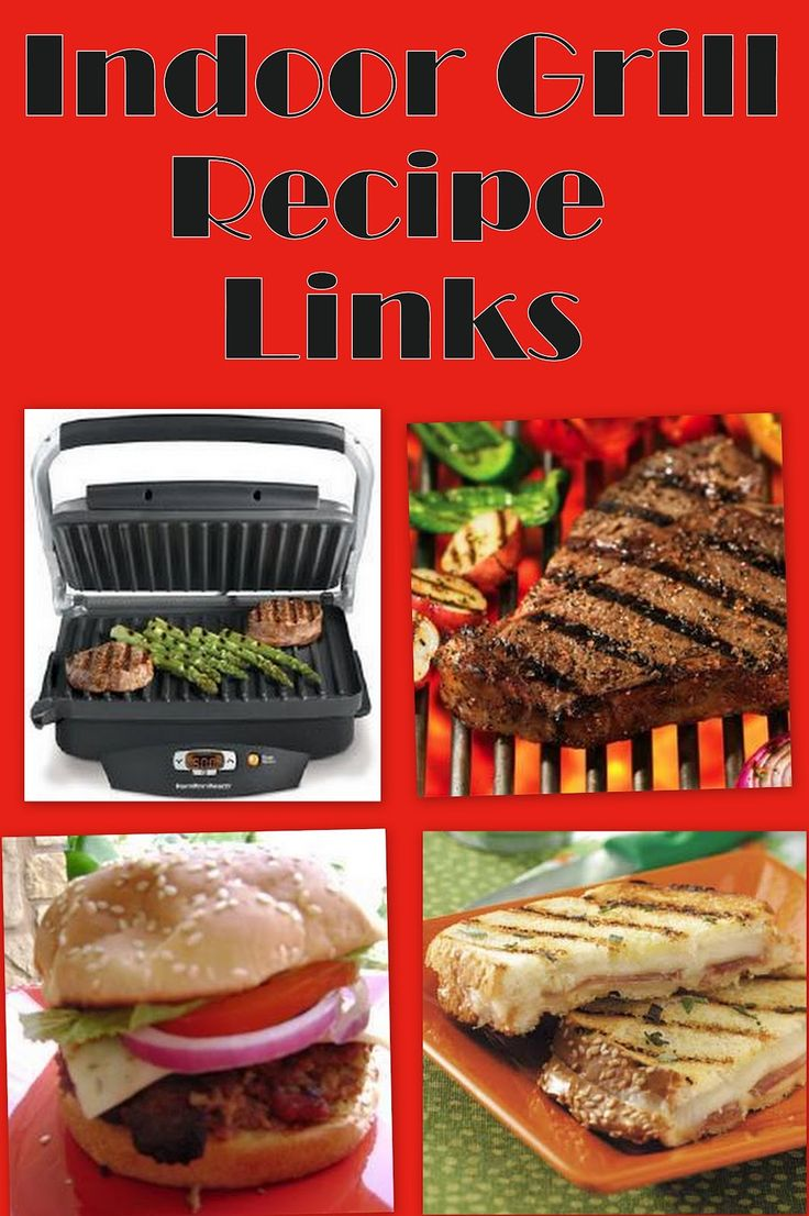 Pressure Cooking and Canning : 10 Recipe Links for Indoor Grills. Find this  Pin and more on George Foreman grill recipes ...