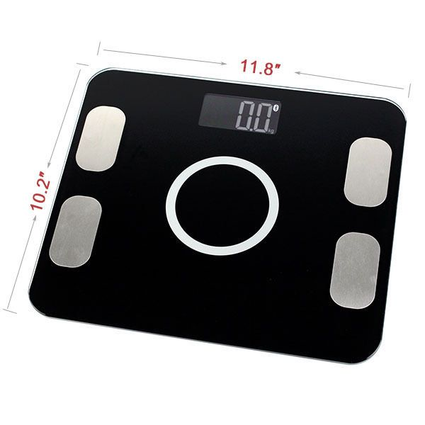 Digital Body Weight Smart Scales LED Monitor Electronic Weighing Machine Balance #Unbranded
