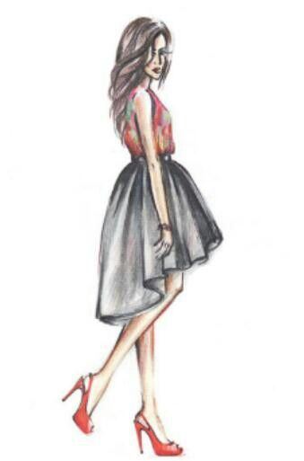 Fashion illistration x