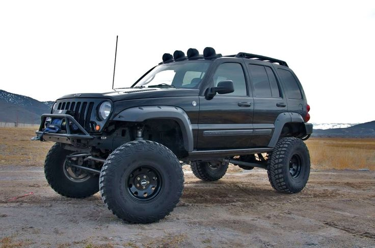All it needs is a little pink.... Jeep liberty, Lifted