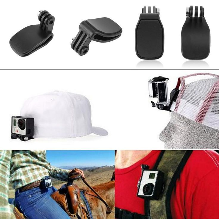 Travel Clip Mount For GoPro HD Hero 2 3+ 4