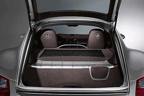 Suncoast Porsche Parts & Accessories Cayman Cargo Net
