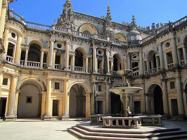 Tomar, Portugal. Convento de los Templarios.