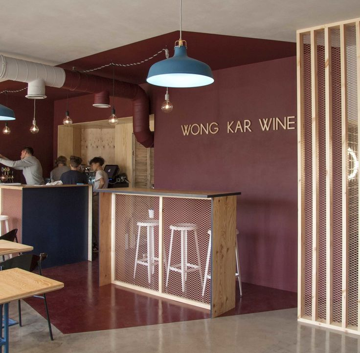 WKW Asian food café   Location:  Saint-Petersburg, Russia Status:      completed, 2014 Program:  Cafe and Bar Area:         42 m2    WKW is a small Asian cuisine cafe and wine bar. We proposed to create an Asian cafe without any specific and ...