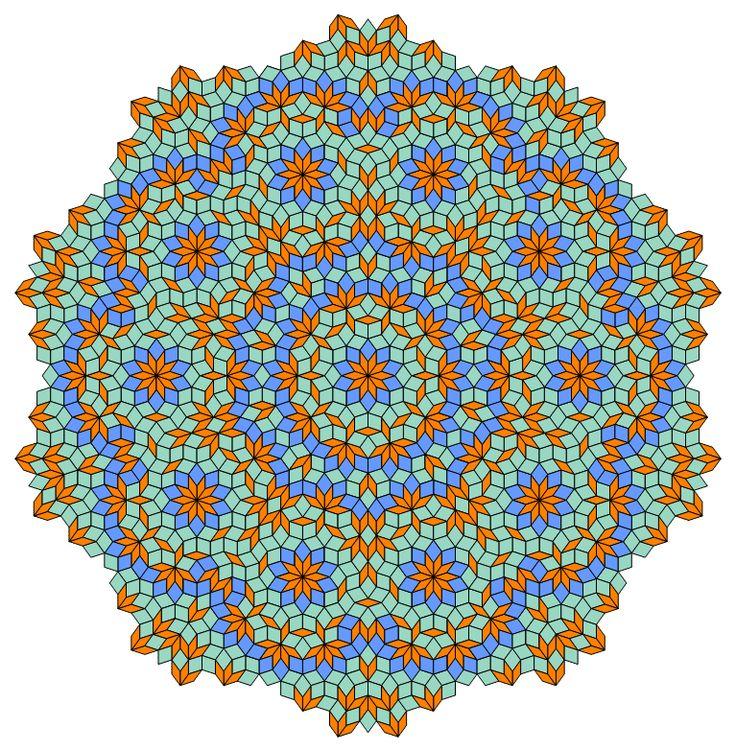 92 Best Penrose Tile Quilts Images On Pinterest Penrose