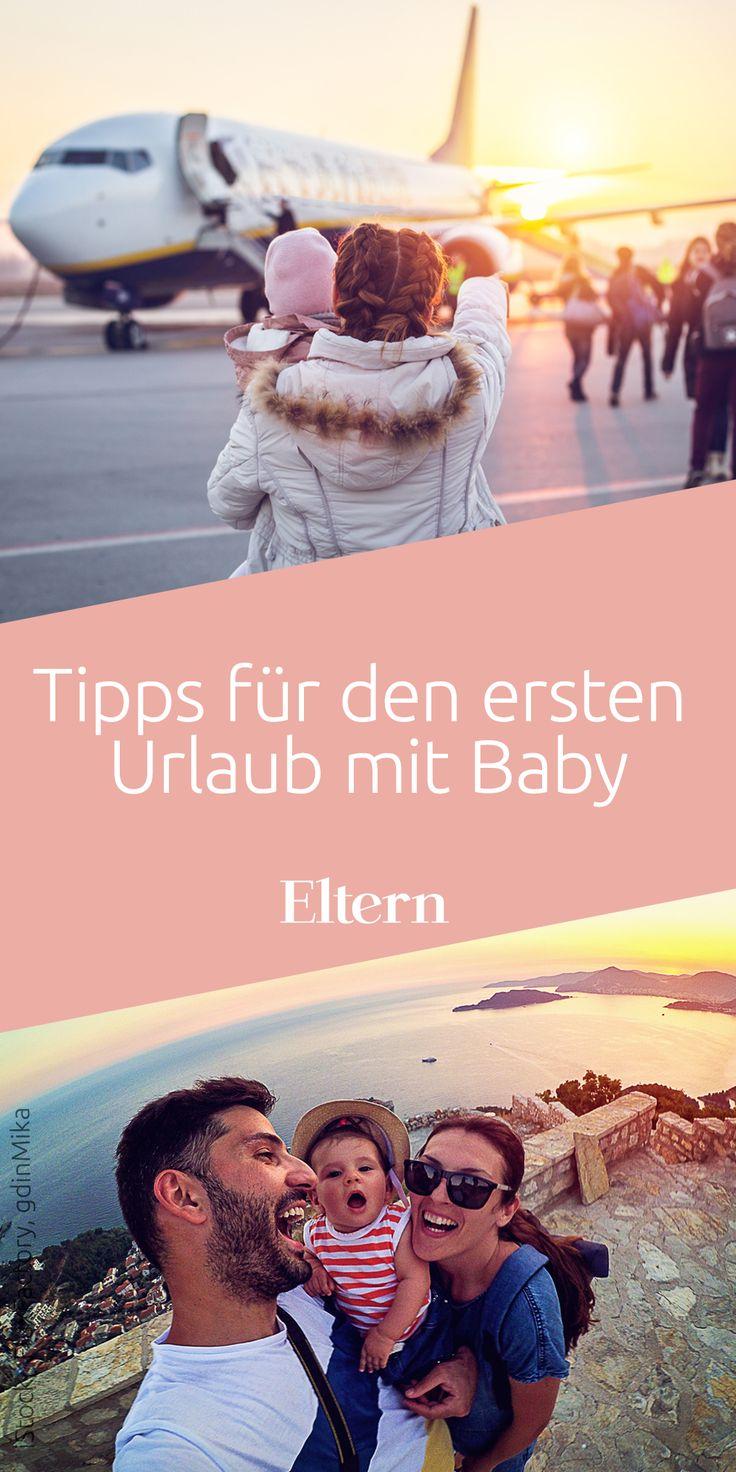 Tipps für den ersten Urlaub mit Baby