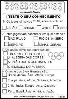 Simulado de história sobre jogos olímpicos                                                                                                                                                      Mais