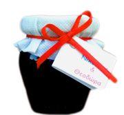 Χειροποίητη μπομπονιέρα: Γλυκό του κουταλιού εποχής σε όμορφο βαζάκι των 120 ml