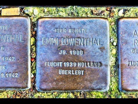 Emmi Löwenthal • Marktstraße 40 • Stolperstein in Duderstadt