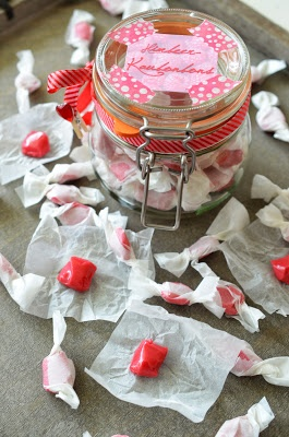 Ninas kleiner Food-Blog: Himbeer-Kaubonbons