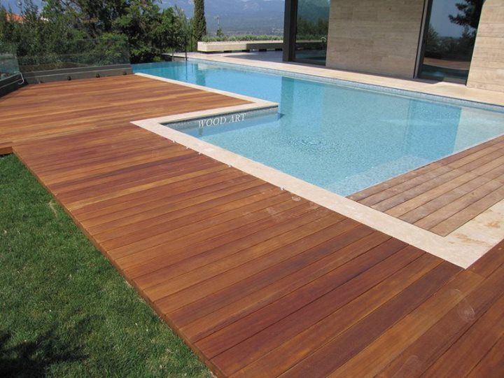 17 best images about tarima para piscinas on pinterest backyard ponds backyards and decking - Tarima para piscinas ...