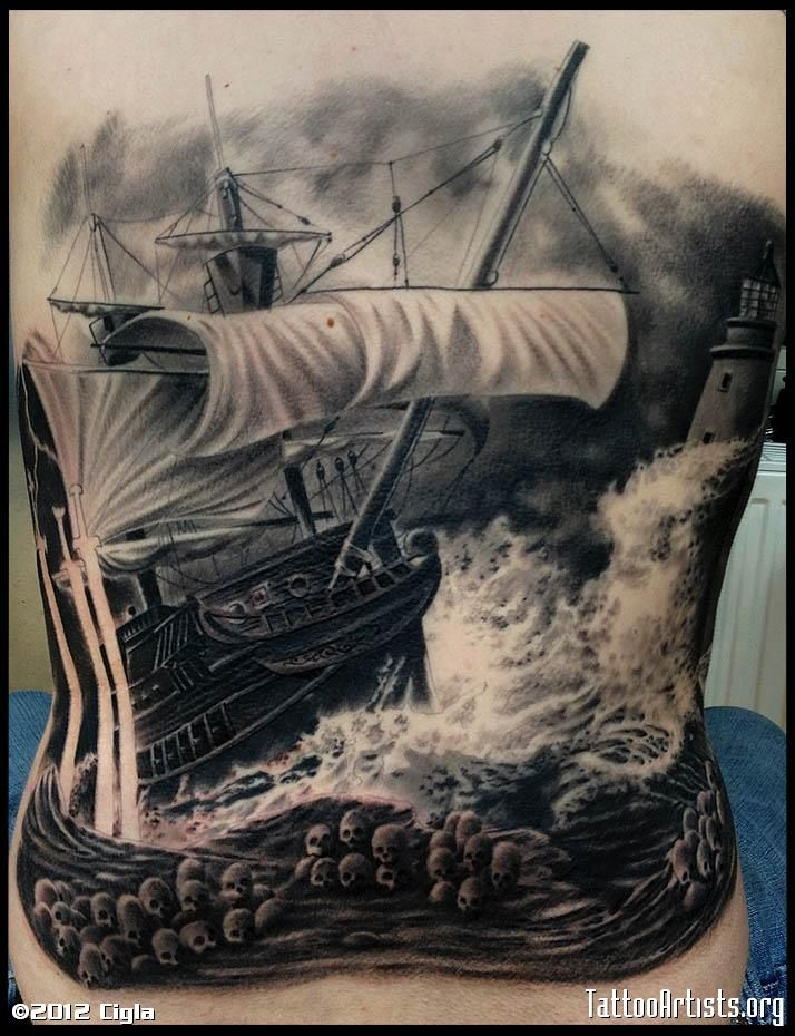 tattoocollection.in wp-content uploads Ship-In-Storm-Tattoo-Design-2.jpg
