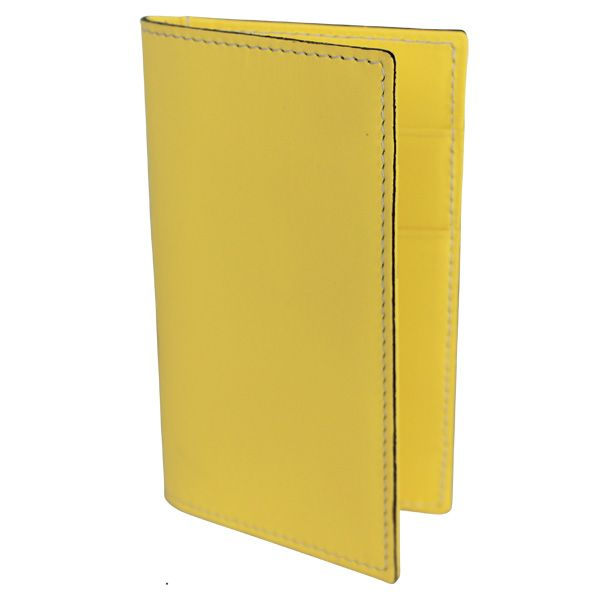 Porte-cartes Hurbane - cuir jaune