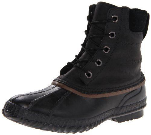 Sorel Men's Cheyanne Lace Full Grain Leather Boot - http://authenticboots.com/sorel-mens-cheyanne-lace-full-grain-leather-boot/