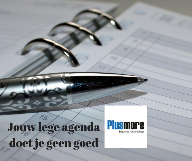Jouw lege agenda is geen goede agenda. Wanneer je geen afspraken in jouw agenda hebt staan, dan zal je ook niet veel verkopen. Tips om die agenda te vullen>