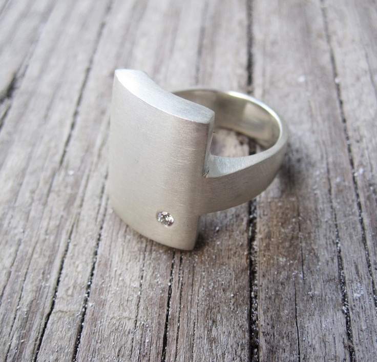 What a star!  I am in love with this ring by Kari Woo!