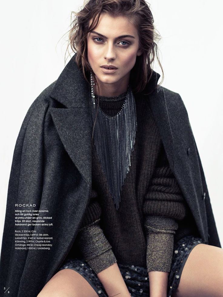 visual optimism; fashion editorials, shows, campaigns & more!: kamouflerad: lone praesto by honer akrawi for elle sweden september 2014